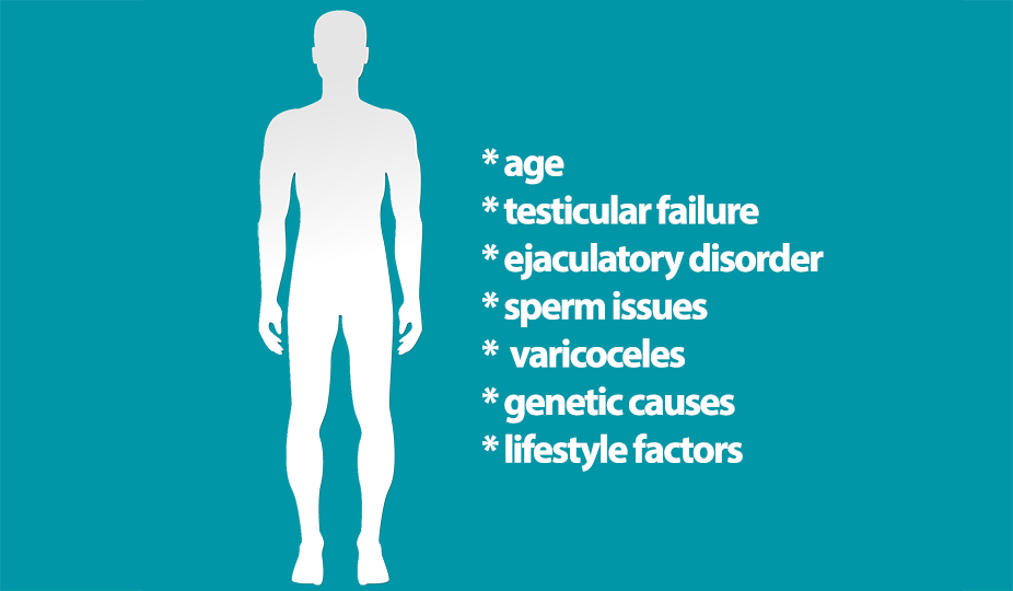 secondary male infertility factors