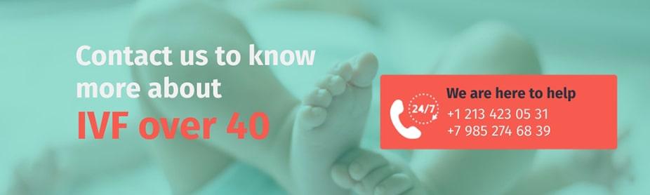 IVF over 40 help center