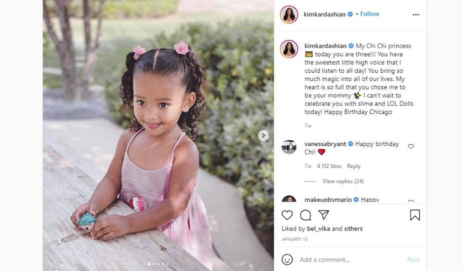 Chicago West - Kim Kardashian Third Kid from Surrogate Mother
