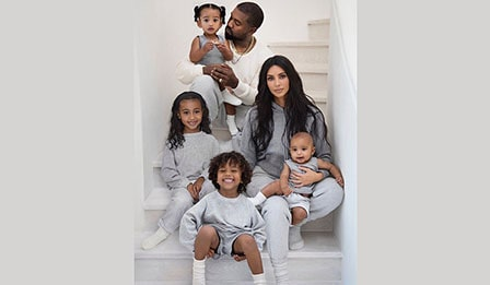 Kim Kardashian IVF, Pregnancies and Children
