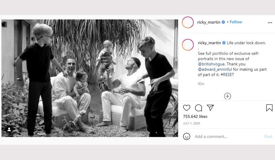 Ricky Martin surrogacy